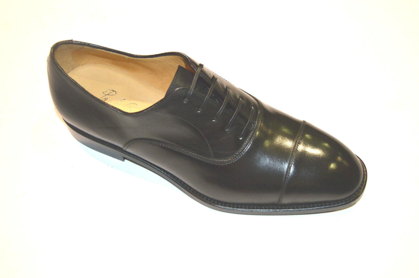 New  PAOLO SCAFORA  Dress Leather  shoes shoes shoes Size Eu 40.5 Uk 6.5 Us 7.5 (Cod 2) ca81a8