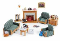 Calico Critters Deluxe Living Room Set , New, Free Shipping
