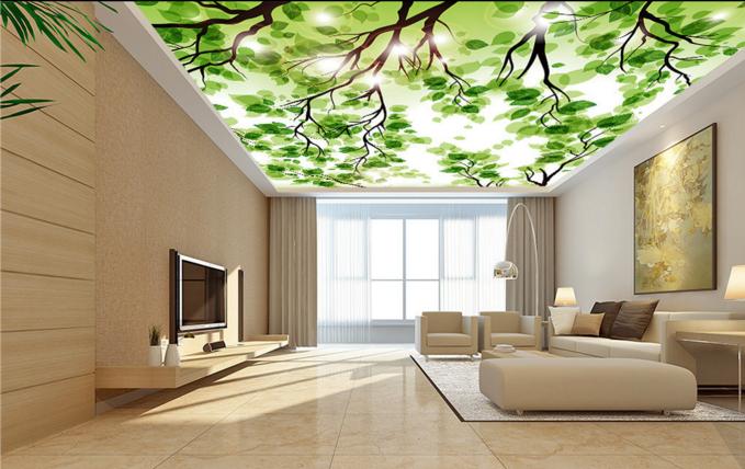 3D Leaves Adorn Adorn Adorn Ceiling WallPaper Murals Wall Print Decal Deco AJ WALLPAPER AU f10ee9