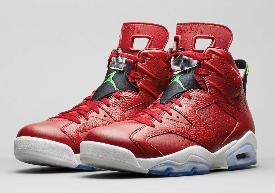 Nike Air Jordan 6 VI Spizike History of Jordan Size 11.5. 694091-625 1 2 3 4 5