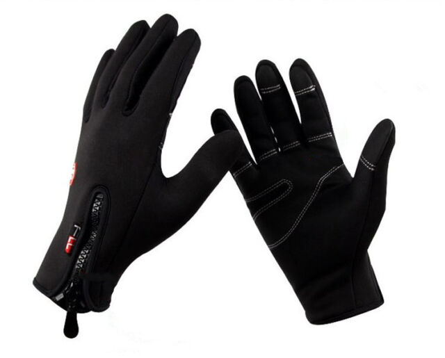 Winter windproof warm gloves Motorcycle bike drive protection TouchScreen gloves