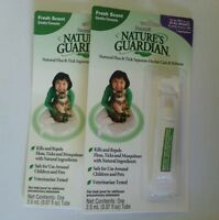 2x Nature's Guardian Natural Flea & Tick Squeeze-on Cats & Kittens By Sergeant's