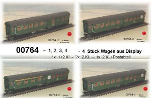 De-Marklin-00764-umbauwagenzug-034-Nuremberg-034-4-voitures-de-la-DB-neu-dans-neuf-dans-sa-boite