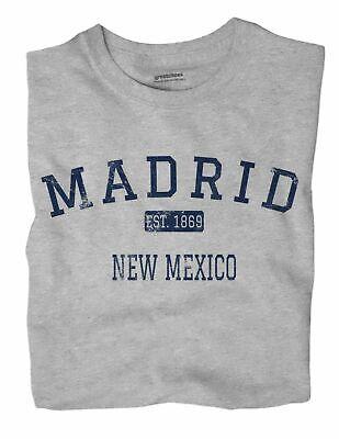 Madrid New Mexico Nm T Shirt Est Ebay