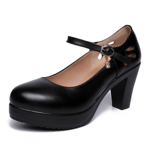 New-Womens-Closed-Toe-Platform-Pumps-Stiletto-High-Heel-Sandals-Breathable-Shoes