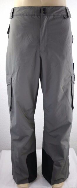 91c2fcf852 Slalom Ski Pants Insulated Men s Cargo Gray Snow Winter Size 3xl for sale  online