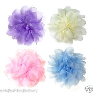 Soft silk flower hair clip and pin girls headband silk hair flowers image is loading soft silk flower hair clip and pin girls mightylinksfo