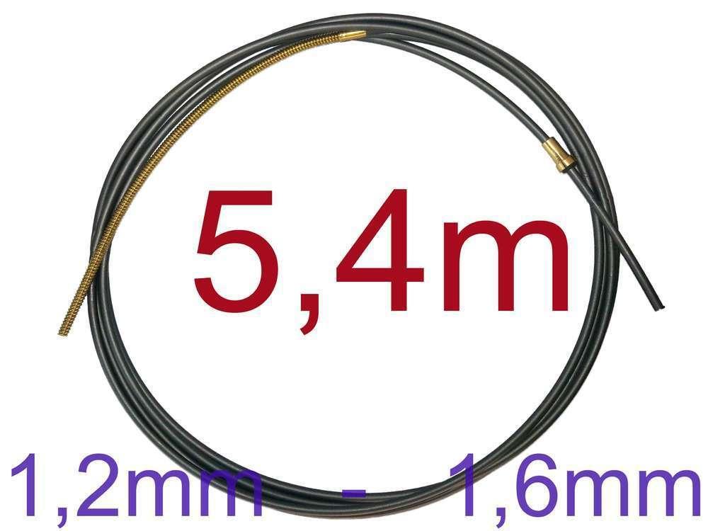 Kohle Teflonseele 5 m 1,2-1,6mm Drahtführung MIG//MAG Graphitseele Edelstahl 5m