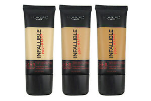 L-039-OREAL-INFALLIBLE-PRO-MATTE-24HR-FOUNDATION-NEW-amp-SEALED-PLEASE-SELECT-SHADE-1