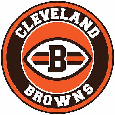 Cleveland Browns Circle Logo Vinyl Decal / Sticker CHOOSE ...