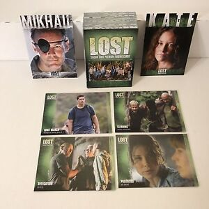 Inkworks Lost Season 3 Complete 90 Card Base Set