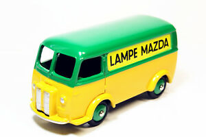 1-43-Atlas-Dinky-Toys-25B-Fourgon-Tole-Peugeot-D-3-A-LAMPE-MAZDA-Diecast-Toy