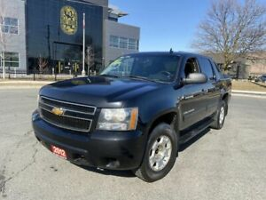 2012 Chevrolet Avalanche Crew Cab, Automatic, 4X4, 6 Passngers,  3 Years warraty Available.