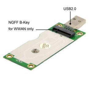 Wireless-WWAN-M-2-NGFF-to-USB-Adapter-Card-amp-SIM-Card-Slot-Module-Testing-Tools