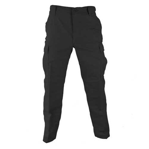 US PROPPER Genuine gear bdu esercito pantaloni con tasconi Outdoor Casual Nero