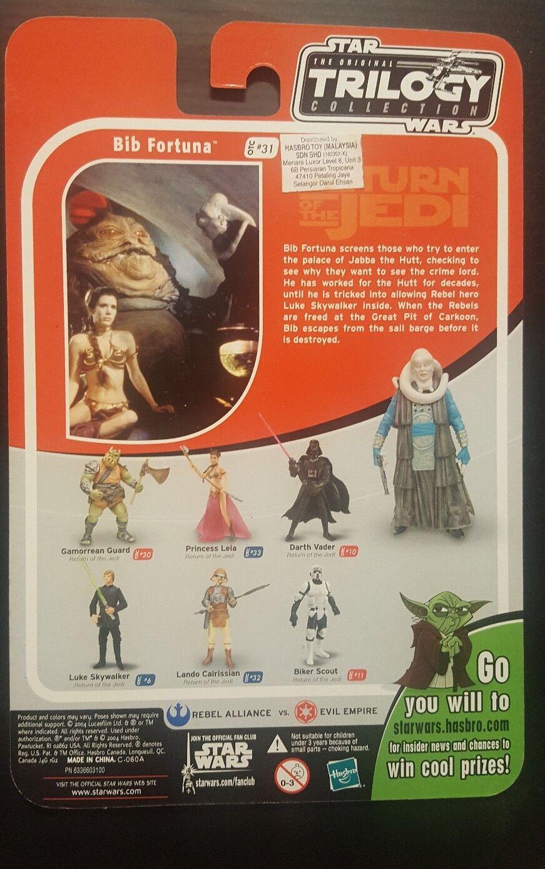 Tienda 2018 Estrella Wars Trilogy Colección Colección Colección Bib Fortuna  31 tarjeta de prueba  compra en línea hoy