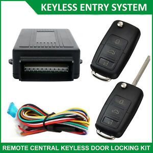 Car-Keyless-Entry-Kit-2-Remote-Control-Central-Lock-System-Auto-Security-Locking