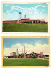 MT - BILLINGS MONTANA Postcard Lot GREAT WESTERN SUGAR COMPANY FACTORY