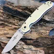 Couteau Ontario RAT1 D2 Lame Acier D2 Manche FRN Desert Tan Liner ON8867TN