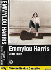 Emmylou Harris White Shoes CASSETTE ALBUM Country, Folk WB 92-3961-4  1983