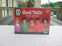 ( 1d ) One Direction Girl Talk The Game Ages 8 & Upnew & Factory Sealed