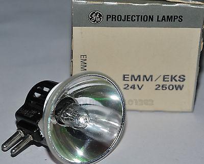 ★LAMPADA EMM/EKS 24 V 250 W GX7.9 PER PROIETTORE 16 mm (BELL & HOWELL)★