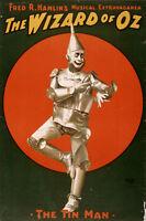 Wizard Of Oz The Tin Man Movie Poster Replica 13x19 Photo Print