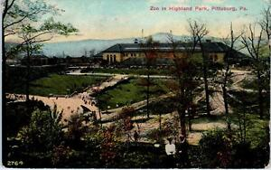 PITTSBURGH, PA Pennsylvania ZOO in HIGHLAND PARK 1910