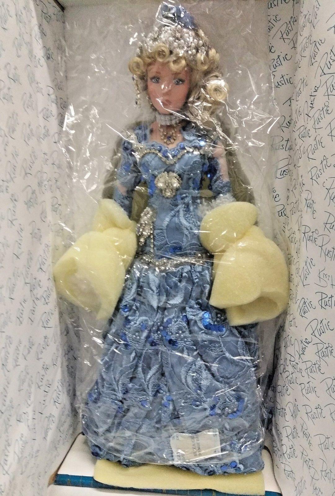 Rustie Kimberlee 18  Muñeca De Porcelana Con Certificado De Autenticidad 0323 2000