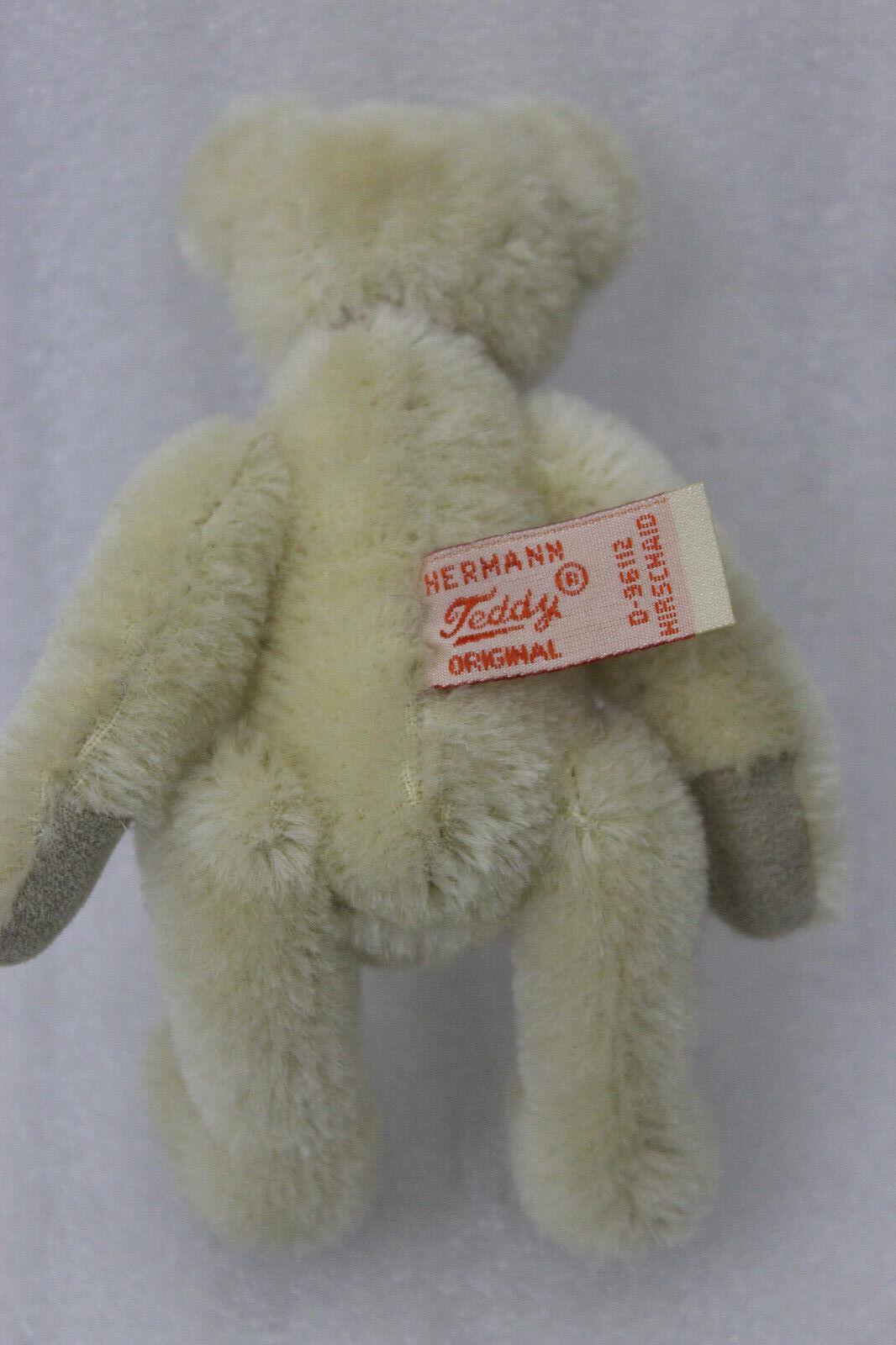 NEU Hermann Teddy Teddy Teddy Club Geschenkbär 2017 13 cm. rote Schleife 983279 158394