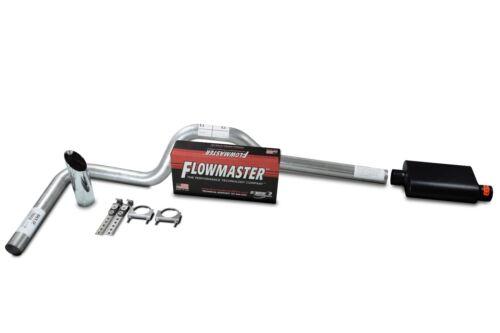 "Ford F150 15-18 Single 3/"" Truck Exhaust Kits Flowmaster Super 44 Slash Tip"