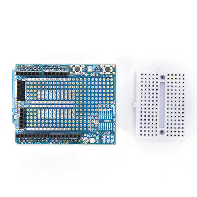 Atmega328P Arduino Prototyping Prototype Shield ProtoShield+Mini Breadboard ~OJ