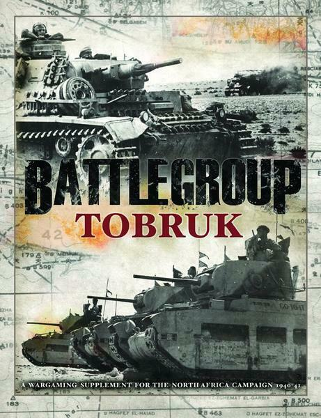 100% Vero Iron Fist Publishing Bp1579 - Rules - Battlegroup: Tobruk Per Soddisfare La Convenienza Delle Persone