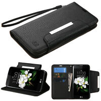 For Htc Desire 510 512 Wallet Leather Case Cover Pouch Strap Magnet Flip Fold