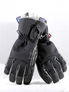 Hestra Czone Alpine Leather Black Gloves Mens Winter Ski Snowboard XL - 10