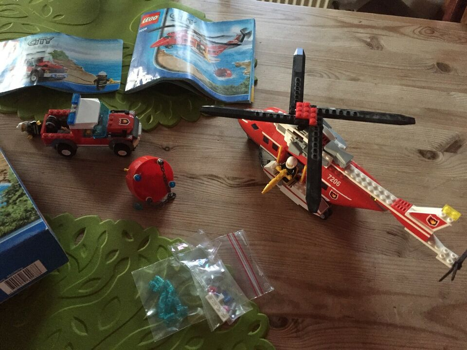 Lego City, 7206: Fire Helicopter