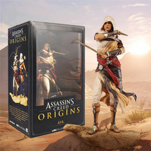 ASSASSIN'S CREED ORIGINS AYA PVC ACTION FIGURE STATUE FIGURINES STATUE TOY GIFT