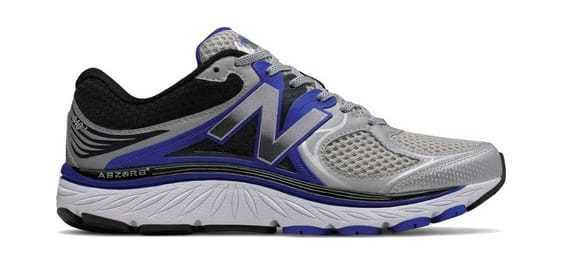 New Balance Men's 940v3 Running Shoe Silver/Blue/Black