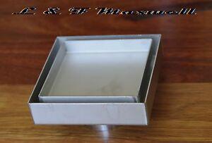 Square Stainless Steel Tile Insert Floor Waste Grate Shower Drain