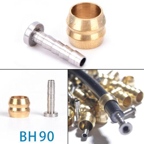 2//5pair BH90 Bicycle Brake hose MTB Hydraulic disc brake Olive Connect Insert KS