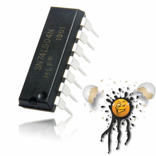 SN74LS04N HD74LS04 SN74S04 Hex Inverter 6 Kanal 4.75-5,25V DIP14 IC pcs 2 Stk