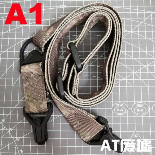 "Adjust Retro Tactical Detach QD 1 or 2 Point Multi Mission 1.2/"" Rifle Sling"