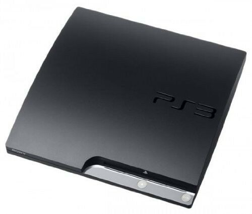 Sony Playstation 3 Slim Launch Edition 160gb Charcoal Black Console For Sale Online Ebay