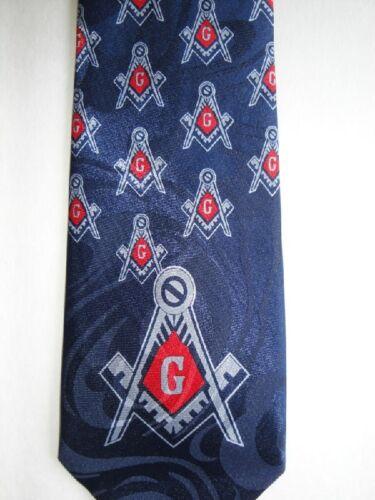 Masonic Square /& Compass Religious neck tie