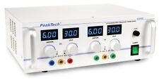 PeakTech 5995 AC/DC stab. Labornetzgerät/Laboratory Power Supply 0-30 V/0-6 A