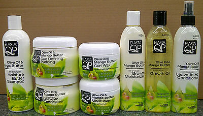 Elasta QP Olive Oil & Mango Butter Hair Products