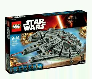 LEGO 75105 STAR WARS FORCE AWAKENS MILLENNIUM FALCON - <span itemprop=availableAtOrFrom>Loughborough, United Kingdom</span> - LEGO 75105 STAR WARS FORCE AWAKENS MILLENNIUM FALCON - Loughborough, United Kingdom