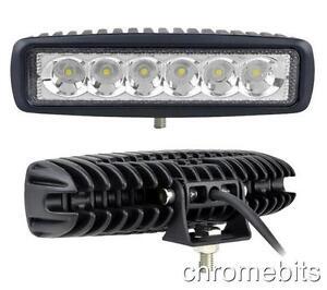 2 X 18w Led Arbeit Lichtleiste Scheinwerfer Offroad Auto Lkw SUV 12v 24v