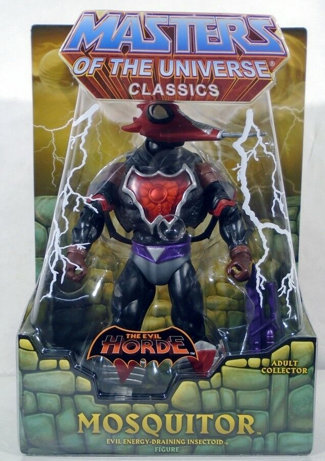 Masters of the Universe Classics Mosquitor The Evil Horde avec Mailer (Comme neuf dans emballage scellé)