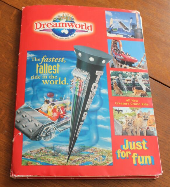 Tower of Terror Press Kit, Dreamworld Theme Park, Australia, 1997!